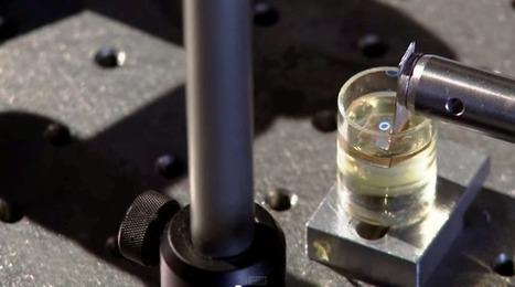 Des conduits de nerfs imprimés par micro-stéréolithographie | Neuroscience_technics | Scoop.it