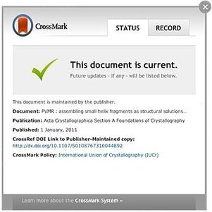 CrossMark® | Researcher Identity | Scoop.it
