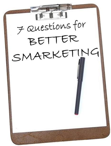 7 Questions Marketers Should Be Asking Their Sales Reps | WebZine E-Commerce &  E-Marketing - Alexandre Kuhn | Scoop.it