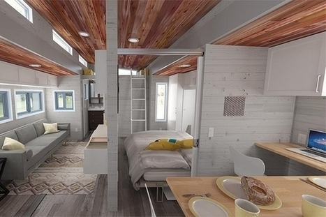 Aurora : une Tiny House extensible | EFFICYCLE | Scoop.it