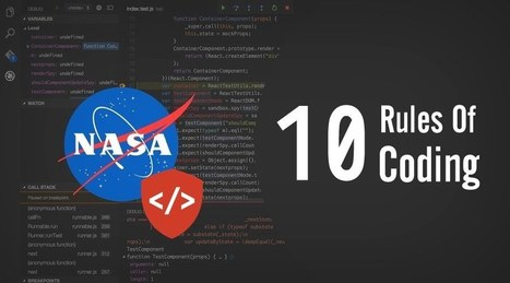 How To Code Like The Top Programmers At NASA — 10 Critical Rules   EEDSP   Scoop.it