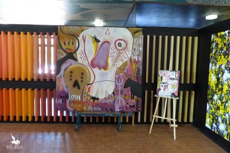 Peintures réalisées à Street art city   The art of Tarek   Scoop.it