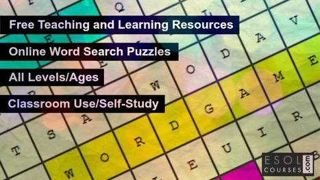 Free Online Word Search Puzzles For Learning En
