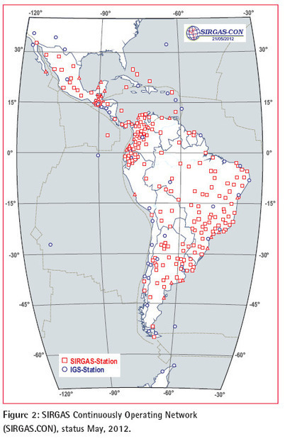 Geodetic activities in Latin America and The Caribbean: always IN | Geographic Information Sciences | Scoop.it