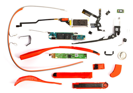 Google Glass Teardown | Locative Media | Scoop.it