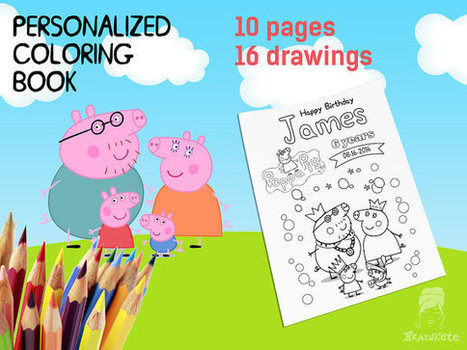 coloring book\' in DIY Kids Party Decoration Ideas and Supplies ...