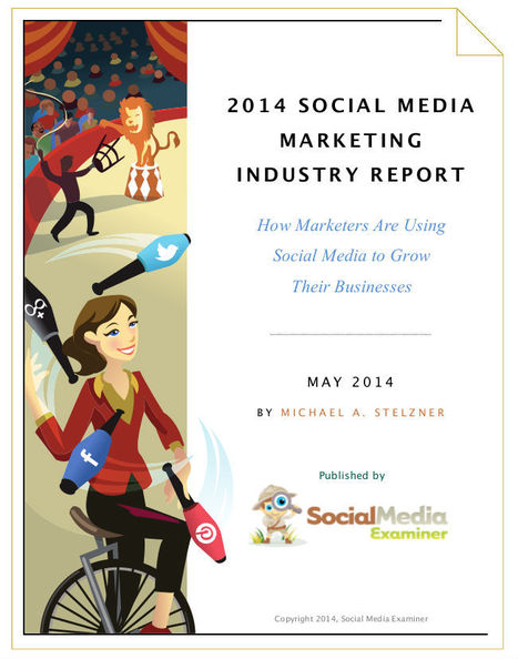2014 How are marketers using Social Media to grow their business? (industry report) | Social Content Technology Curation by Newsdeck | Scoop.it