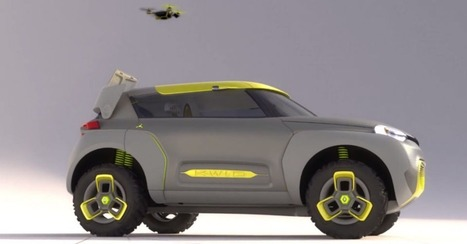 Renault Concept Car Packs a Flying Drone in Its Roof | Insight: Marketing, trending and guilty pleasures | Scoop.it