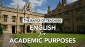 The Basics of Teaching English for Academic Purposes by ELT Online | Udemy | Dalhousie ESL Programs | Scoop.it