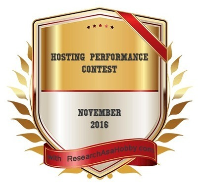 Hosting Performance Contest – November 2016 Roundup (15 Consistent) | Social Media and Mobile Websites | Scoop.it