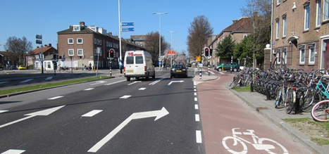 In the Netherlands, bike paths heated during winter months | Local Economy in Action | Scoop.it