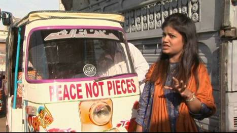 Pakistan rickshaws drive home peace message | GEP Global Perspectives in Secondary Education | Scoop.it