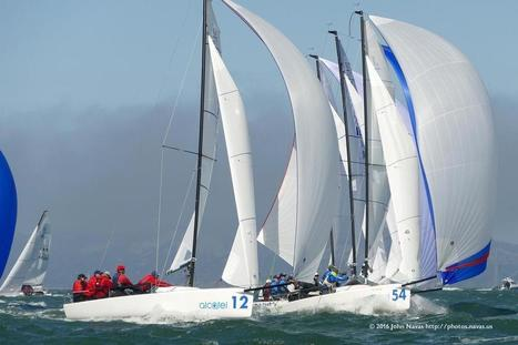 J-70 Worlds - San Francisco - Images from a fired up first day | Nereides Diary | Scoop.it