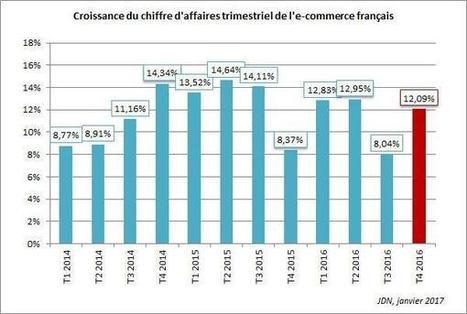 L'e-commerce français a réalisé une croissance de 11,5% en 2016 | CCI du Tarn | Scoop.it