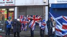 NI Flag protestors target Sturgeon in anti-independence demo   YES for an Independent Scotland   Scoop.it