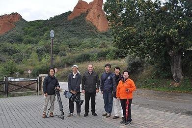 La televisión japonesa graba un documental en Las Médulas sobre ... - Infobierzo.com   Documentary   Scoop.it