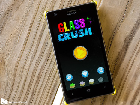 Glass Crush for Windows Phone, over 600 puzzling levels to scratch your head over | Free Mobile, Orange, SFR et Bouygues Télécom, etc. | Scoop.it