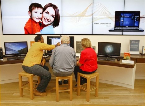 For some, the Microsoft Store concept is a puzzle - latimes.com | Design | Scoop.it
