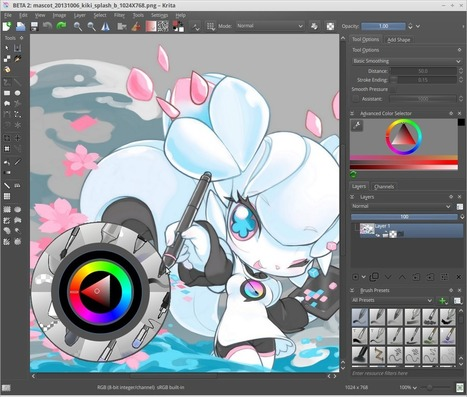 Krita 2.8.0 Released | Websites I Found So You Don't Need To | Scoop.it
