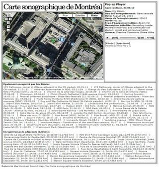 Présentation et analyse d'un paysage sonore : la ville de Montréal — EducTice | DESARTSONNANTS - CRÉATION SONORE ET ENVIRONNEMENT - ENVIRONMENTAL SOUND ART - PAYSAGES ET ECOLOGIE SONORE | Scoop.it