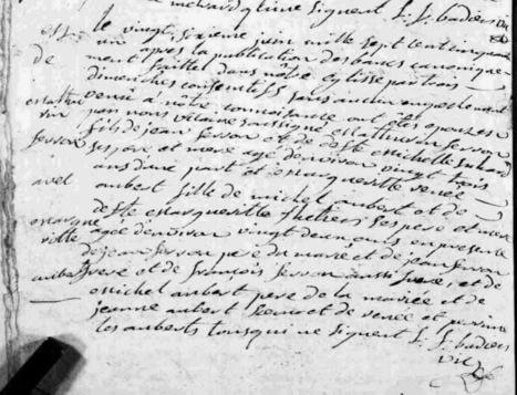 Marine et ses ancêtres... Blog de Généalogie: Mon épine généalogique résolue !   Histoire Familiale   Scoop.it