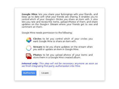 Google Mine : bientôt un nouveau service pour partager ce que vous voulez | Luc Boulanger | Scoop.it