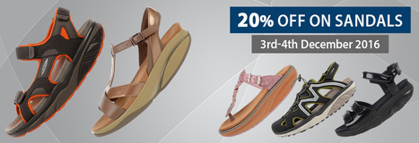 4937dc6ad751 Flat 20% OFF on MBT Sandals Online Collection