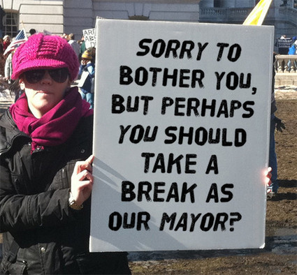 13 Very Canadian Protest Signs From Anti Rob Ford Rally | Media Relations Articles: Rob Ford | Scoop.it