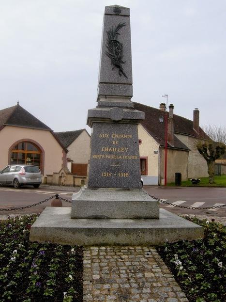 Histoires de Familles - Blog Généalogie: Histoire du Monument aux Morts de Chailley | Auprès de nos Racines - Généalogie | Scoop.it