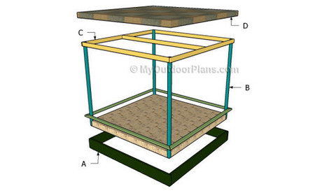 Covered Sandbox Plans | Free Outdoor Plans - DIY Shed, Wooden Playhouse, Bbq, Woodworking Projects | Diy Furniture Plans | Scoop.it