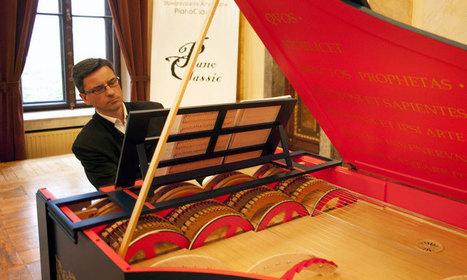 Ecoutez l'incroyable instrument inventé il y a 500 ans par Léonard de Vinci et joué pour la toute première fois   Art-Arte-Cultura   Scoop.it