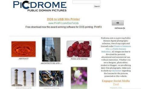 Picdrome, directorio y buscador de fotos de dominio público | Recull diari | Scoop.it