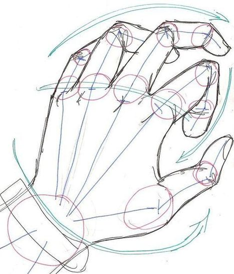 hand drawing reference guide drawing referenc