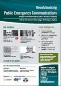 Conference - Revolutionising Public Emergency Communications - TweetMyEvents | Cultural heritage protection | Scoop.it