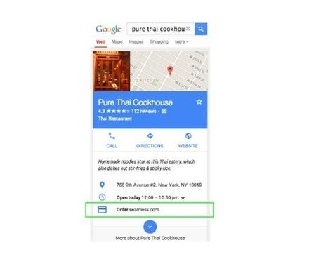 Les pages Google My Business locales prendront des réservations depuis Google Search   veille Etourisme Animation numérique de Territoire   Scoop.it