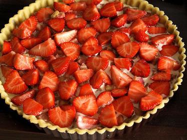 Tarte meringuée fraise-rhubarbe | Les p'tits plats | Scoop.it