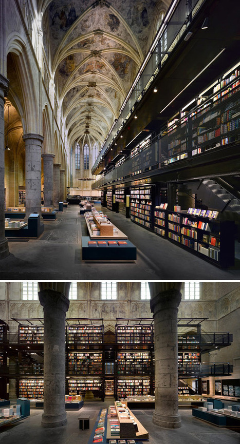 The 20 Most Beautiful Bookstores in the World « Flavorwire | A New Society, a new education! | Scoop.it