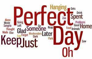 Perfect Day | Sing it in English | Scoop.it