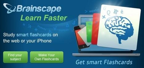 brain-scape – Buena opción para crear tarjetas de aprendizaje | NTICs en Educación | Scoop.it
