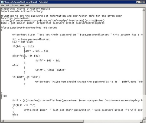 How to use a PowerShell Profile to simplify tasks | PowerShell | Scoop.it