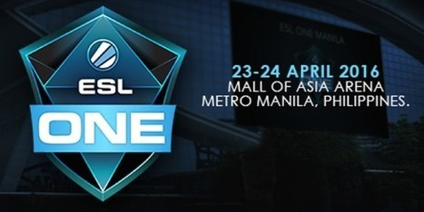 ESL ONE MANILA 2016 | Anything I Can Share | Scoop.it