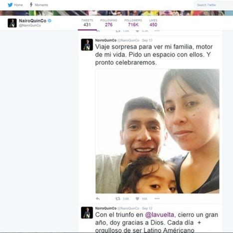 Nairo Quintana: cómo y por qué se volvió feminista uno de los mejores ciclistas del mundo - BBC Mundo | Ingeniería Biomédica | Scoop.it