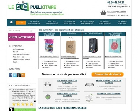 Témoignage – Jean-Baptiste de la boutique Sac Publicitaire | WebZine E-Commerce &  E-Marketing - Alexandre Kuhn | Scoop.it