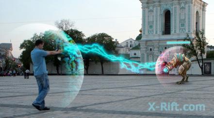 X-Rift : Un jeu en réalité augmentée pas comme les autres | PixelsTrade Webzine | Business Apps : Applications in-house | Scoop.it