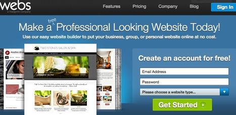 Webs - Make a free website, get free hosting | Recursos y herramientas | Scoop.it