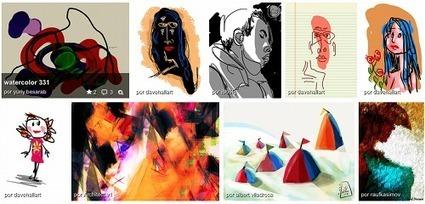 Ideas para dibujar y pintar con herramientas TIC   Nuevas tecnologías aplicadas a la educación   Educa con TIC   Online Learning: More Than Just a MOOC #SPANISH   Scoop.it