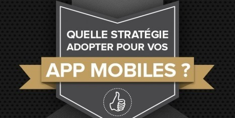 [Infographie] Stratégie mobile : web app ou app mobile ? - FrenchWeb.fr   mobile enterprise   Scoop.it