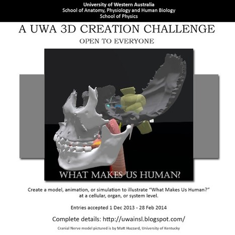 The University of Western Australia in Second Life: A UWA 3D Creation Challenge: What Makes Us Human (L$268K Prize Pool) | Mondes Virtuels & Education | Scoop.it