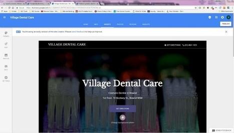 Google teste un outil de création de page dans Google My Business | Référencement internet | Scoop.it