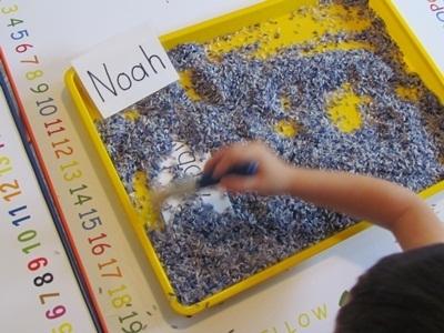 Digging up the letters of our name in preschool   Teach Preschool   Scoop.it